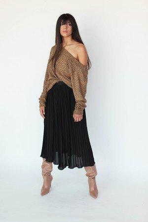 Spodnica plisowana noemi