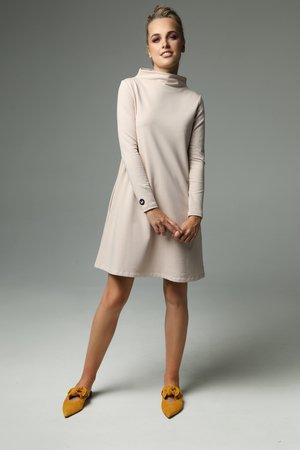 Sukienka moss nude