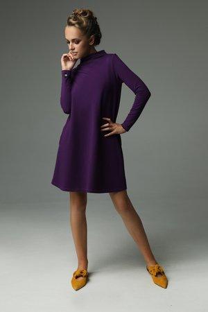 Sukienka moss fioletowa