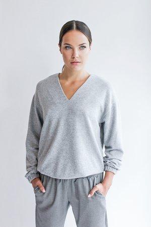 Bluzka pleasure grey