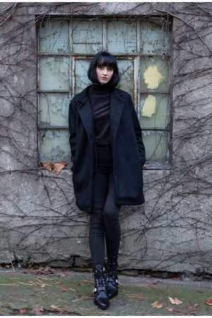 Plaszcz wool coat