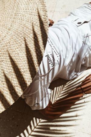 Koszulka z nadrukiem bala island tee white