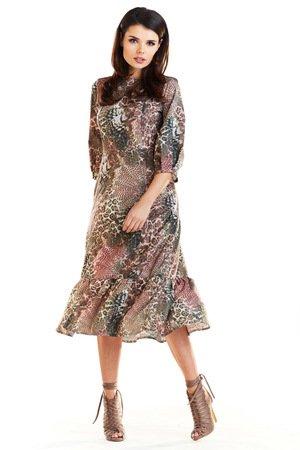 Sukienka midi b276