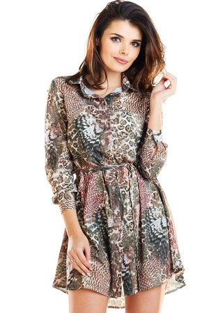 c9ff588a24 Awama - Sukienka koszulowa B281 ...