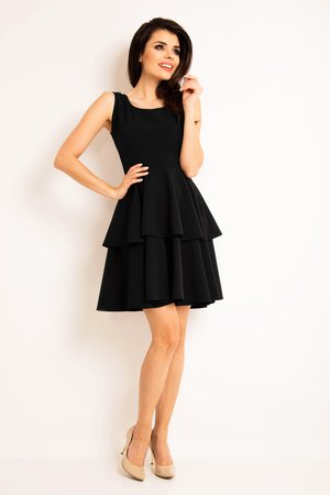 Sukienka na ramiaczkach b163