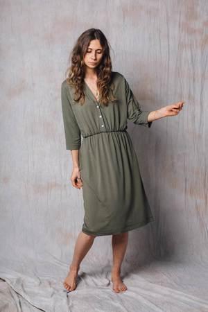 38c0b04841 NALU BODYWEAR - Oliwkowa sukienka Melisa ...