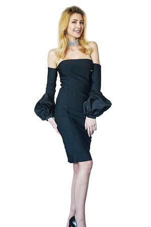 Sukienka czarna viviane