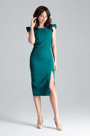 ec3bb34bcd LENITIF - Sukienka034 Zielony ...