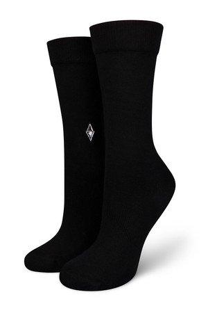 9e2d6ef7a728b1 VA Socks - Skarpetki damskie Plain Black VA SOCKS ...