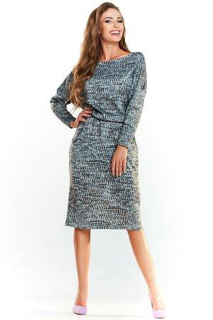 Sukienka midi n041
