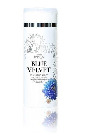 Bartos cosmetics blue velvet esencja micelarna