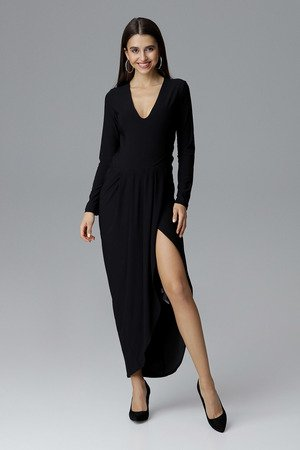 Sukienka m636 czarny