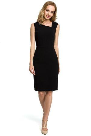 M397 sukienka czarna
