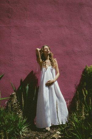 Lniana sukienka paloma