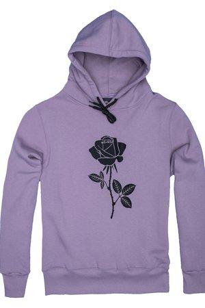Bluza hoodie lavender rose
