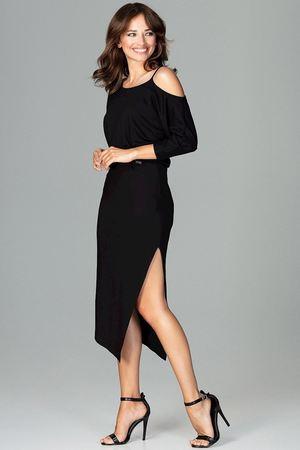 Sukienka k479 czarny
