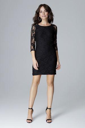 Sukienka017 czarny
