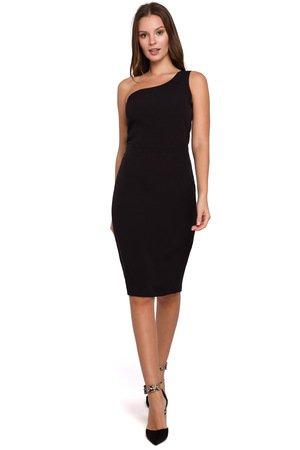 Sukienka na jedno ramie k003